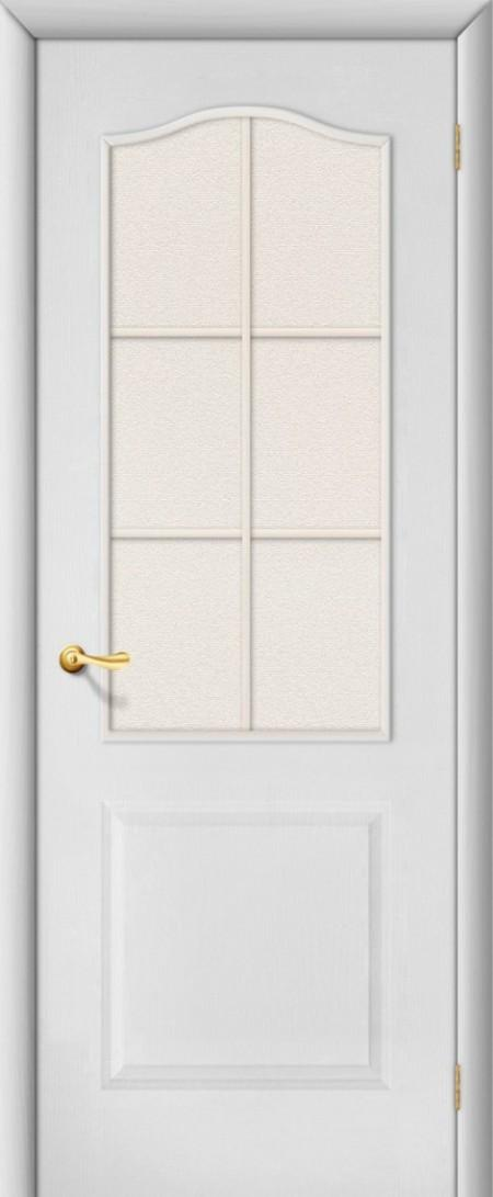 Двери межкомнатные палитра белые