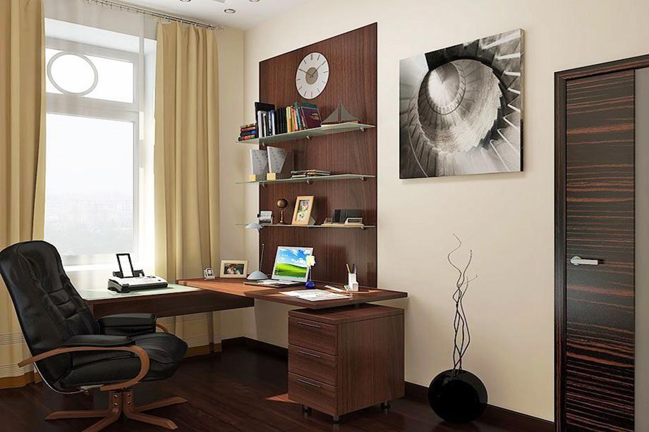 дизайн рабочего кабинета в квартире фото хозяйки утверждают