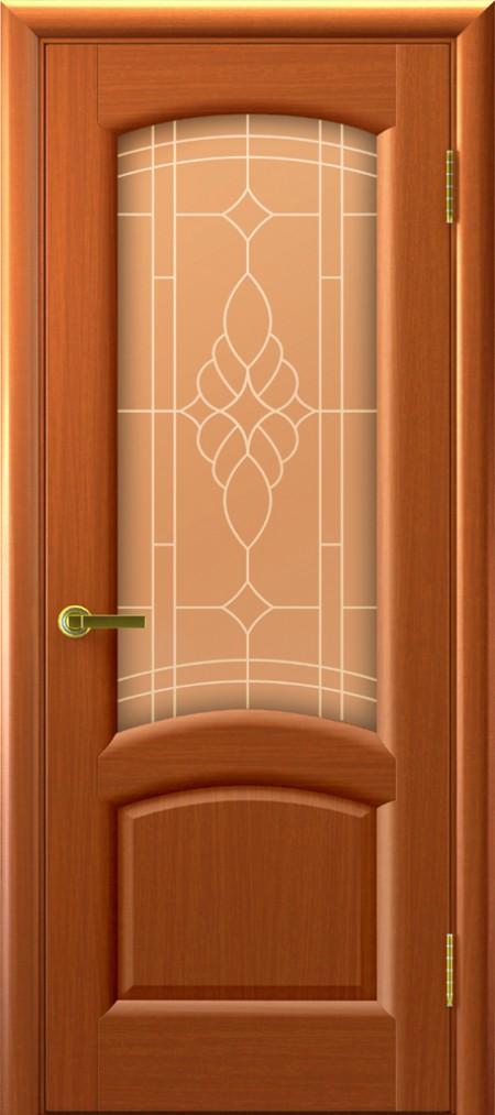 Дверь белла 1 жемчуг светлый анегри
